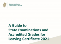 Guide to State Examinations and Accredited Grades for Leaving Certificate 2021