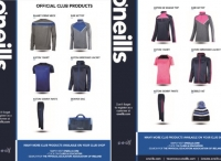 New O'Neills PEAI Club Shop Range
